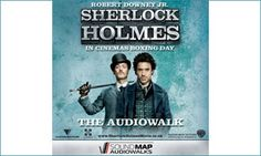 "Sherlock Holmes audiowalk: Great idea for assessment task. Get students to narrate an ""audiowalk"""