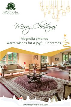 A Merry Christmas to everyone from all of us at Magnolia Resorts. May this Christmas bring a lot of joy and cheer to you and your family. :) #MerryChristmas