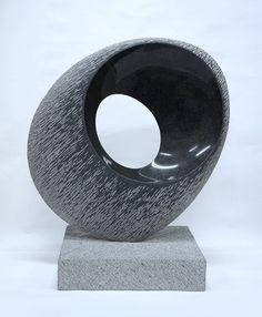 Ball of Black Light. Bronze Sculpture, Wood Sculpture, Animal Sculptures, Wire Sculptures, Japanese Art Modern, Stone Carving, Stone Art, Public Art, Rock Art