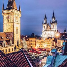 Skip the malls and go straught to #Prague for its famed #christmasmarket. Tap our IG story by #marriottrewards for things to do when you get here. @jacob