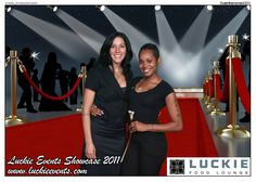Event activation for Luckie Events Showcase 2011. #experiential #eventmarketing #eventphotography #greenscreen
