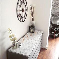 repost @apartment259  #ikeahack with #dcfix self adhesive foil marble Marmi grey. .  Customisation de commodes #ikea Malm avec l'adhésif décoratif d-c-fix marbre Marmi gris. . .  #dchome #diy #doityourself #marble #marbre #marmi #furniture #furnituredecor #meuble #dresser #commode #decoration #homedecor #homedecoration #homesweethome #homestaging #inspiration #homeinspo #livingroom #salon #makeover #transformation #customized