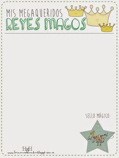 Hermanas de Hambre: DIY: Carta Reyes Magos/Papa Noel - Imprimibles Gratis