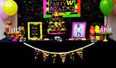 Mundo teen: tendências para uma festa neon - Cheers Kids