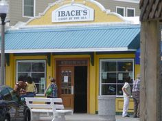 Ibach's Candy by the Sea, Rehoboth Avenue.