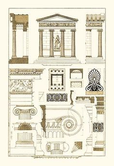 Architectural Drawings of Renaissance Architecture More