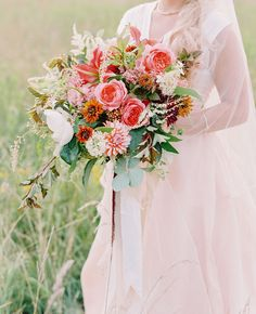 Fall Floral Wedding Inspiration | Green Wedding Shoes Wedding Blog | Wedding Trends for Stylish + Creative Brides