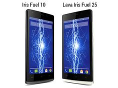 Lava has launched of the Iris Fuel 10 and Iris Fuel 25 smartphones. The new Lava Iris Fuel 10 and Lava Iris Fuel 25 will be available at Rs. and Rs. Latest Smartphones, Smartphone News, New Gadgets, Android 4, Lava, Iris, Product Launch, Iphone, Mobiles