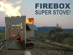 G2 Folding Firebox Camping Stove Lets You Cook Anywhere |Gadgetsin