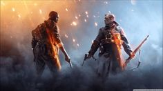 Really Slow Motion  - Suns and Stars (Battlefield 1 - Single Player Trai...
