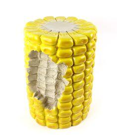 Giant Corn Cob Stool
