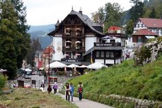 Triberg, Germany in the Black Forest! Cuckoo Clock founding town.