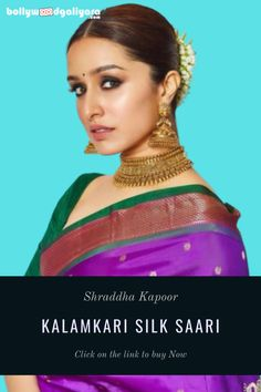 If You want to buy a Saari Like Shraddha Kappor, You can click on link to buy. Buy Sarees Online, Fancy Sarees, Shraddha Kapoor, Party Wear, Link, Stuff To Buy, Party Clothes, Party Outfits, Party Dress