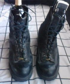 Details about CHIPPEWA TROOPER MOTORCYCLE BOOTS SZ 12D