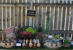 Garden Party Dessert Table