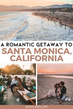 The Local's Travel Guide to Santa Monica, California California Getaways, California Travel, California Coast, Weekend Getaways For Couples, Weekend Trips, Santa Monica Restaurants, San Francisco, New York, United States Travel