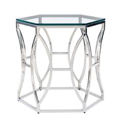 Image of Argent Metal Side Table