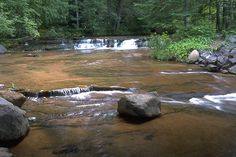 Take a break from the noise and find tranquility in Northwestern Wisconsin at Siskiwit Falls.
