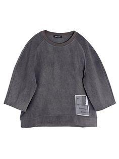 Damir Doma Men's Oversized Coated Cotton Trienta T-Shirt