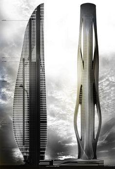 Relief Tower - DanielCaven DESIGN