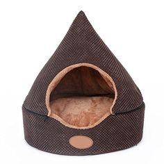 Two Usage Cat Dog Pet Tent Bed House Soft Luxury Small Dog Puppy Sofa Bed Kennel Nest Indoor Winter Warm Fleece Dog Cave House Cushion Mat * To view further for this item, visit the image link. (This is an affiliate link and I receive a commission for the sales)