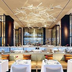 The annual Zagat guide to NYC restaurants not only evaluates the best cuisine in town, but the most striking spaces in which to eat. Brand Expert, Nyc Restaurants, New York City, Real Estate, Sky, Dining, Home Decor, Happy, Summer