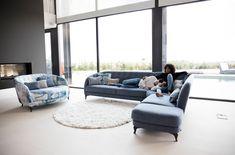 Welcome to Mia Stanza, contemporary, modern furniture in Nantwich, Cheshire. Suppliers of the Astoria corner sofa from Fama. Corner House, Corner Sofa, Bespoke Sofas, Living Room Sofa, Design Your Own, Seat Cushions, Modern Furniture, Modern Design, Armchair