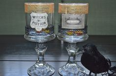 TexMex Crafting: DIY Halloween: Candle Holders