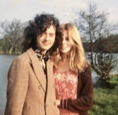 Jimmy Page and Charlotte Martin. Not sure what year, but its probably 1970 based on Jimmy's hair. Probably taken at Pangbounre. Jimmy Page and Charlotte Martin. Not sure what year, but its probably 1970 based on Jimmy's hair. Probably taken at Pangbounre. Led Zeppelin Guitarist, Led Zeppelin Logo, Led Zeppelin Lyrics, Led Zeppelin Poster, The Rolling Stones, Stevie Ray Vaughan, Lindsey Stirling, David Gilmour, Keith Richards