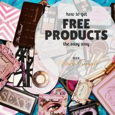 how to get free (full sized) products