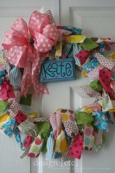 a bow wreath