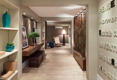 Decor Salteado - Blog de Decoração | Arquitetura | Construção | Paisagismo: Hall de Entrada – veja 40 entradas triunfais e dicas de como decorar!