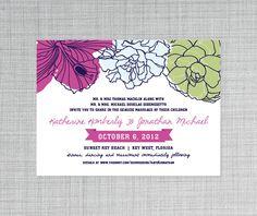 Seaside Wedding Invitation #Dea+Bean