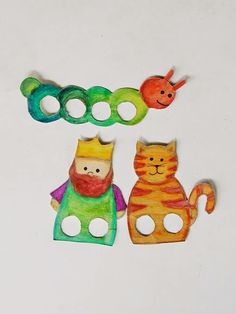 One little, two little, three little fingerplays!: DIY FINGER PUPPETS