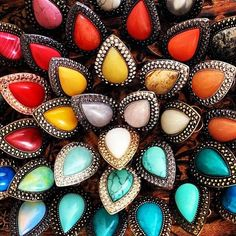 Samantha Wills rings, I want them all!