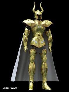 Las 2 armaduras doradas reales21
