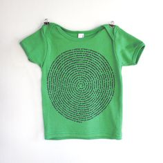 Animal Group Nouns Baby Tshirt in Grass Green size by Xenotees. $22.00, via Etsy.