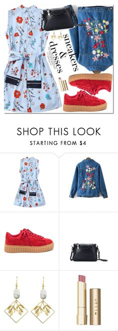"""""""Sporty Chic: Sneakers and Dresses"""" by oshint ❤ liked on Polyvore featuring Stila, cool, fabulous, wonderful, zaful and SNEAKERSANDDRESSES"""