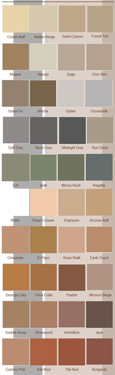 Color hardener coloring options available from Decorative Concrete Floors Supply.