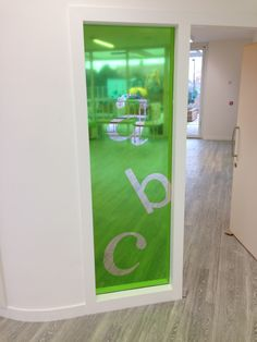 Primary School Bespoke Cut Window Graphics