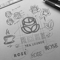 Sketch, brand design. Logo and graphic design. Minimalist. Branding and business design. MadeByJames. Web Design, Best Logo Design, Graphic Design Typography, Branding Design, Logo Evolution, Graphic Design Lessons, Minimalist Graphic Design, Logo Sketches, 2 Logo