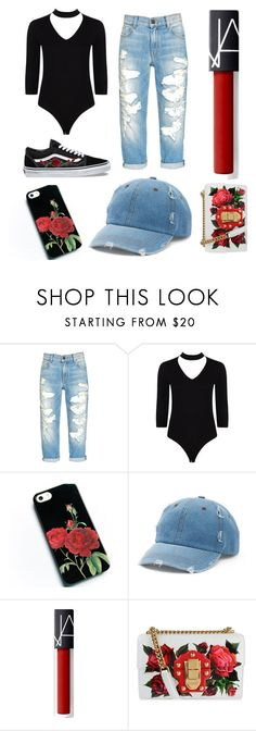 """""""Inspired by Zoë Hilty"""" by maevedomond on Polyvore featuring Vans, Boohoo, Mudd and Dolce&Gabbana"""