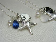 Beach Bridesmaid Necklace
