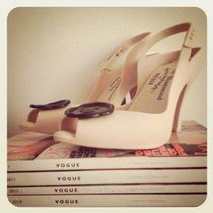 Vivienne Westwood x Melissa shoes Melissa Shoes, Vivienne Westwood, Vogue, Glamour, Pairs, Clothes For Women, Lady, My Style, Heels