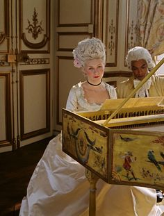 At the Piano | Marie Antoinette 2006 The Movie Marie Antoniette | All things | About Marie | Rosamaria G Frangini