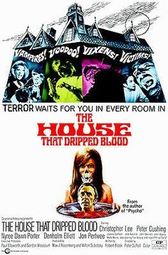 The House That Dripped Blood - 1971 - Movie Poster