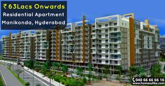 """Book ready to move #2bhk, #3bhk flats in #Manikonda, #Hyderabad from Homesulike.com. Size Range: 1684 - 3325 Sq.ft Price Range: 63Lacs To 1.26Crore Posession: Ready To Move For more details click on http://www.homesulike.com/index.php/projects/viewdetails/Western-Plaza Call us 040-66666616 for site visit. """"""""Hit like and share if you are interested in this property."""""""""""""""