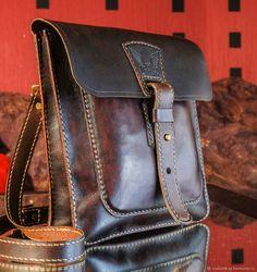 """Сумка """"Пилот-II"""" - купить или заказать в интернет-магазине на Ярмарке Мастеров   Городская мужская сумка позволит всегда иметь при…"""