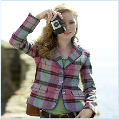 Ness Clothing from Scotland. Fun cheerful take on Tartan.