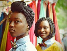 Noeud papillon tissu africain, wax Kwamegni Bow tie african fabric ankara, foulard, afro, scarf Photo by Beyonddarkeyes